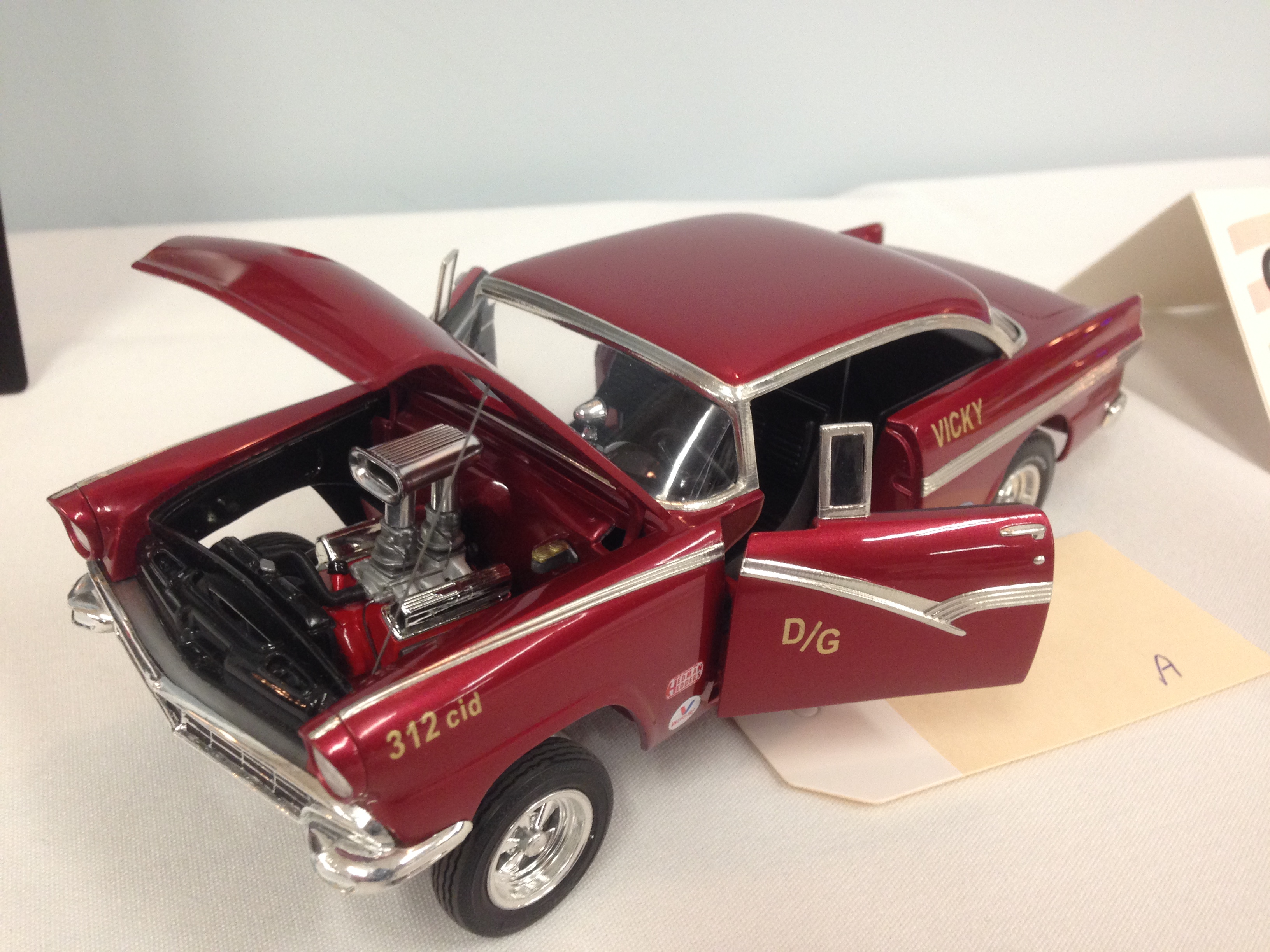 Gombs Contest October 3 2015 Table Top Model Car Club